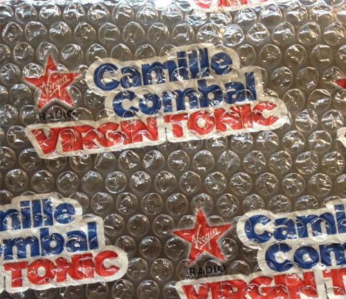 L'Agence Bravo a livré le papier bulle du Virgin Tonic !